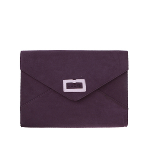 CHAMUDE CLUTCH BAG - VIOLET