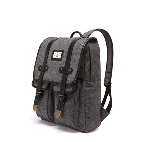 ANTIQUE CLASSIC BACKPACK - HERRINGBONE