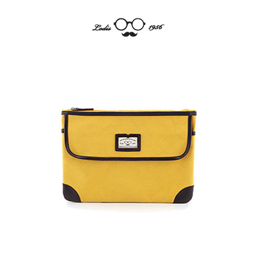 MANNISH CLUTCH - YELLOW
