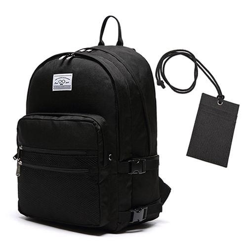 3D BACKPACK - BLACK