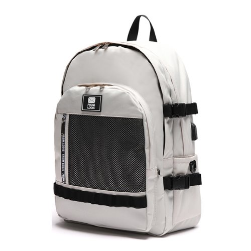 3D POINT BACKPACK -CREAM