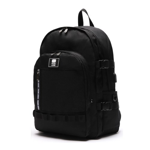 3D POINT BACKPACK -ALLBLACK