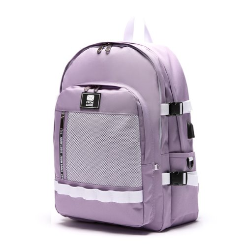 3D POINT BACKPACK -LILAC