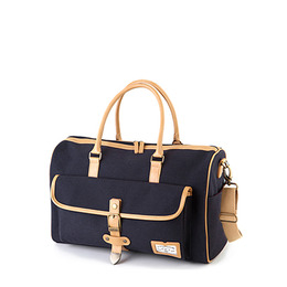 MANNISH BOSTON BAG - NAVY
