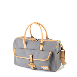 MANNISH BOSTON BAG - GRAY