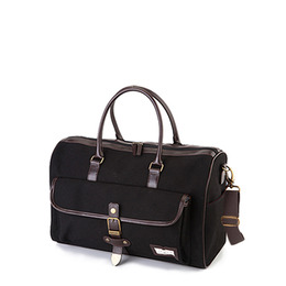 MANNISH BOSTON BAG - BLACK