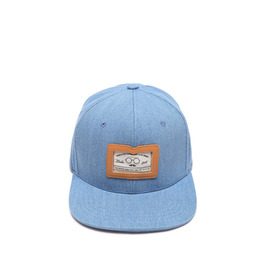 DENIM SNAPBACK - LIGHT BLUE