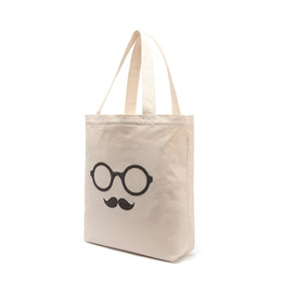 MOUSTACHE ECO BAG - HERRINGBONE
