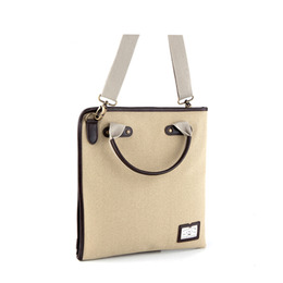PAPER 2WAY CROSS BAG - BEIGE