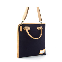 PAPER 2WAY CROSS BAG - NAVY