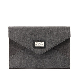 HERRINGBONE CLUTCH