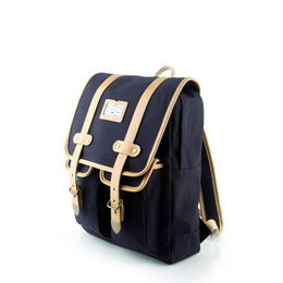 ANTIQUE CLASSIC BACKPACK - NAVY