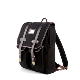 ANTIQUE CLASSIC BACKPACK - BLACK