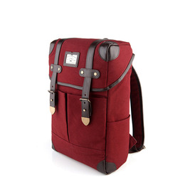 NEW SQUARE BACKPACK - WINE