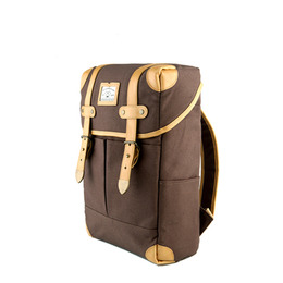 NEW SQUARE BACKPACK - BROWN