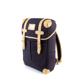 NEW SQUARE BACKPACK - NAVY