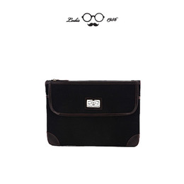 MANNISH CLUTCH - BLACK