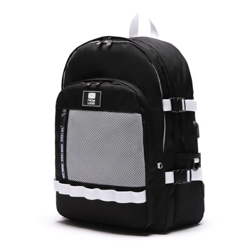 3D POINT BACKPACK -BLACK&WHITE