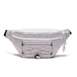 로디스 힙색 NO FRILLS WAIST BAG GRAY/PINK