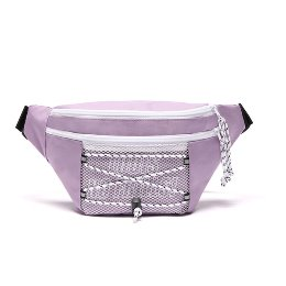 로디스 힙색 NO FRILLS WAIST BAG LILAC/WHITE